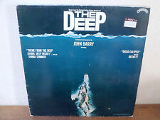 "LP 12"" THE DEEP + POSTER - John Barry - VG+/VG+ - CASABLANCA - CAL 2018 - UK"
