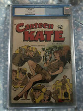 CANTEEN KATE #1 CGC 4.0 VG Matt Baker St John Comics 1952 Off White