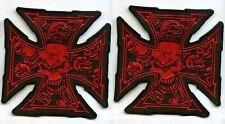 Café Racer Rockeurs 59 Ton-Up-Boy Maltais 13-skulls Croix de Fer Thermocollant