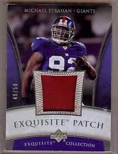 2006 EXQUISITE MICHAEL STRAHAN PATCH 49/50!!