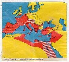 figurina IMPERO ROMANO IMPERIA 1963 REC numero 186 - 187 - 188 - 189