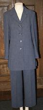 blau grauer Nadelstreifen Anzug * C&A * Gr 38 * your 6th sense classic style