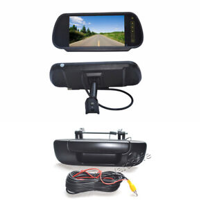 7Inch Replacement Rear View Screen & Reverse Camera for Dodge Ram 1500 2500 3500