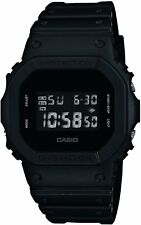 CASIO G-SHOCK DW-5600BB-1JF Solid Colores Black Mens Watch New in box Japan