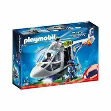 Playmobil police hélicoptère