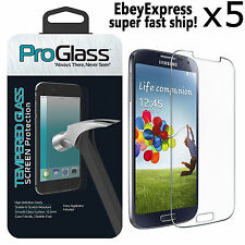 5 Ultra Thin Premium Real Tempered Glass Screen Protector For Samsung Galaxy S5