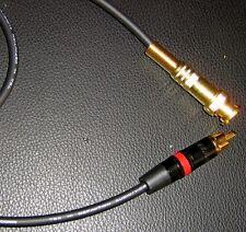 MOGAMI W 2964 CAVO DIGITALE 75ohm  AUDIO VIDEO  CONNETTORI BNC RCA GOLD 1 METRO
