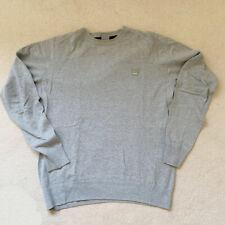 Bench Grey Jumper Sweatshirt Mens Large Long Sleeve Crew Neck