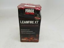 Force Factor Lean Fire XT 30 Capsules - Incinerate Fat - Expires 12/2020 DENTED