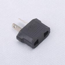 New 1PC US/EU to AU/NZ 2-pin Black Plug Universal Travel Converter HOT