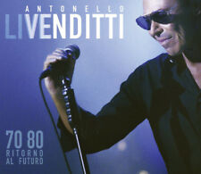 Antonello Venditti ‎– '70-'80 Ritorno Al Futuro  ( 2 Cd ) Sigillato Sealed