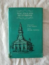 New England Sketchbook by Unk White and Peter Newell | HC/DJ  1970 1st Edition