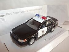 "Ford Crown Victoria Police Car Die Cast Metal Model 5"" Kinsmart Collectable New"