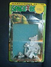 SPACE ORK Warhammer 40k Ork Warboss Nobz PIRATE HAT & COAT 1988      S/N 7056-1