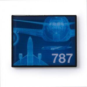 Boeing Boeing Magnet Frame Aluminium  Ideal für den Kühlschrank / Board NEU