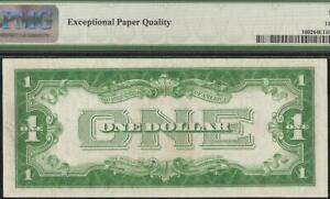 1928B $1 DOLLAR BILL SILVER CERTIFICATE FUNNYBACK NOTE OLD PAPER MONEY PMG 64 EP