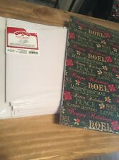 Christmas Gift Boxes Lot Of 13 New All Sizes white and designed