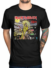 Official Iron Maiden Killers Cover T-Shirt Live After Death Book Of Souls Rock