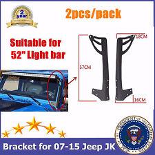 52inch LED LIGHT BAR WINDSHIELD MOUNTING BRACKET FOR 07-16 JK JEEP WRANGLER USA