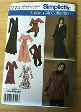 Simplicity Khaliah Ali Collection Dress or Tunic pattern #2774 Size 10-18 UNCUT