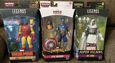 Marvel Legends Lot New In Package! God emperor Doom, Civil Warrior, Iron Man AI!