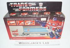 Optimus Prime MIB 100% Complete D 1985 Vintage Action Figure G1 Transformers