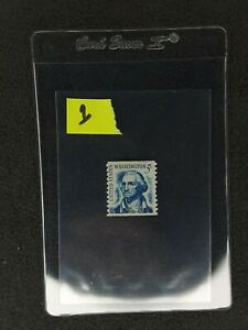 Antique George Washington 5 cent postage stamp, ( Great Condition)