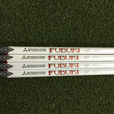 Mitsubishi Rayon FUBUKI red Wood shaft * Regular Flex * Grips / Tips Available
