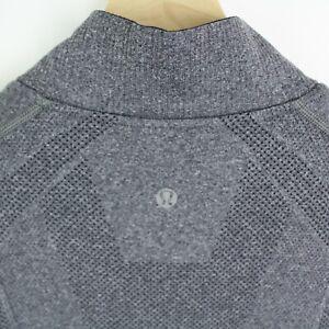 Lululemon Mens 1/2 Zip Pullover sweater size M gray