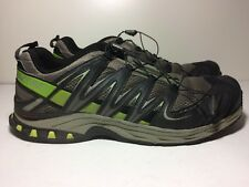 Salomon XA Pro 3D  Mens Trail Running Shoes Black Gray Size 14 Sneakers Trail