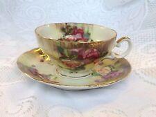 Ucago China Japan Roses Tea Cup & Saucer (57)