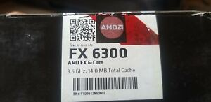 AMD FX 6300 Black Edition 3.5 GHz 6 Core 6 Thread Socket AM3+ CPU Processor