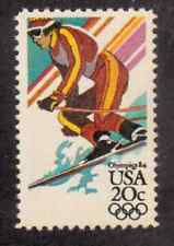 Scott # 2068. .20 Cents... Olympics... Downhill Skiing...5 Stamps