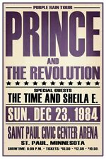 """PRINCE AND THE REVOLUTION CONCERT POSTER 12"""" X 18"""""""