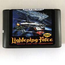 Lightening Force 16-Bit Fits Sega Genesis Mega Drive Game
