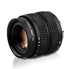 50mm F1.4 C Mount CCTV Lens E-M1 E-M10 E-P5 E-PL7 GX8H GX8 G7H G7K Camera