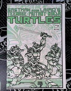 Teenage Mutant Ninja Turtles #4 1985 Mirage Studios Laird Eastman 1st Print