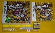 WARIO MASTER OF DISGUISE Nintendo Ds Versione Ufficiale Italiana ••••• COMPLETO