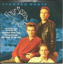CROWDED HOUSE Four Seasons w/ 3 LIVE TRX Europe CD single USA Seller 1992 SEALED