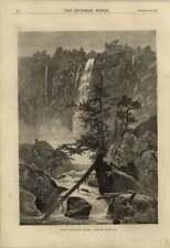 1875 Rum Puncheon Falls Blue Ridge Virginia