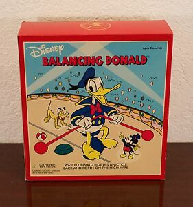DISNEY BALANCING DONALD DUCK TOY SCHYLLING MIB