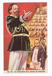 FIGURINA RISORGIMENTO - IMPERIA 1965 246-247 IL DISCORSO DEL GRIDO DI DOL. 19-39