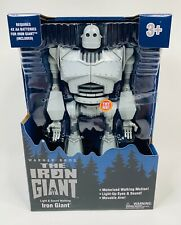 "The Iron Giant Figure Walking w/ Lights & Sounds 14"" Vhtf"