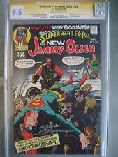 Superman's Pal Jimmy Olsen #134 CGC 8.5 SS **Signed Neal Adams** 1st Darkseid