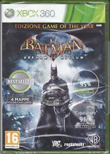 Xbox 360 Batman Arkham Asylum New Sealed Italian Pal