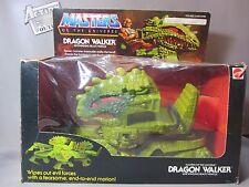 DRAGON WALKER + ORIGINAL BOX Vtg 1984 HE-MAN Works Good Masters MOTU Action Toy