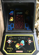 Coleco Vintage Pac-man by Midway Mini Arcade Table Top Video Game 1981 No 2390.