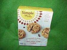 Simple Mills Almond Flour Chocolate Chip Cookie Baking Mix 9.4 OZ Gluten Free