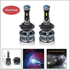 H7 60W LED Waterproof Car Headlight Bulbs Highlight Fog lamp Devil eye Lights
