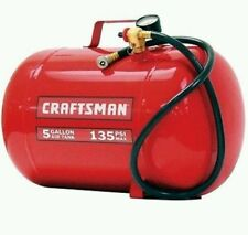 Craftsman 5 Gallon Portable Pneumatic 135 PSI Air Tank Compressor Impact Valve